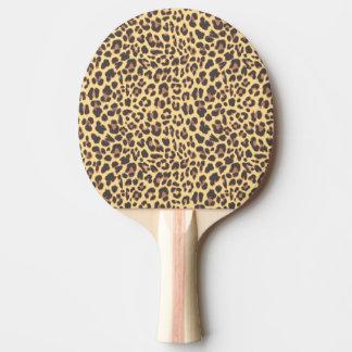 Leopard-Druck-Tierhaut-Muster Tischtennis Schläger
