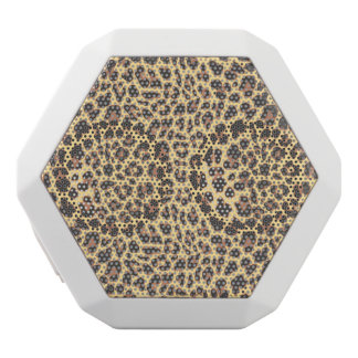 Leopard-Druck-Tierhaut-Muster Weiße Bluetooth Lautsprecher