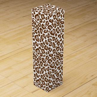 Leopard-Druck Weinbox