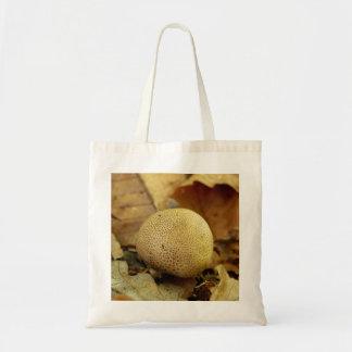 Leopard Earthball pilzartige Taschen-Tasche Tragetasche
