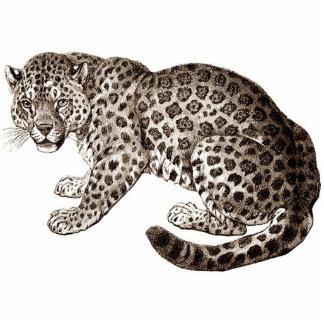 Leopard Freistehende Fotoskulptur