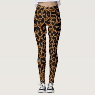 Leopard-gemusterte sexy Strumpfhose-Gamaschen Leggings