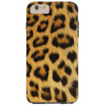 Leopard-gepunkteter Imitat-Pelz, afrikanische Tough iPhone 6 Plus Hülle