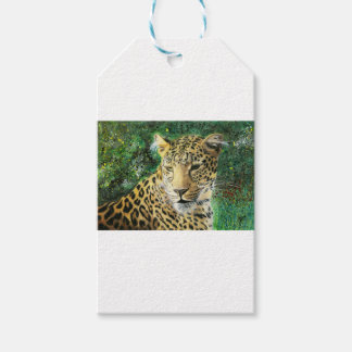 Leopard Geschenkanhänger