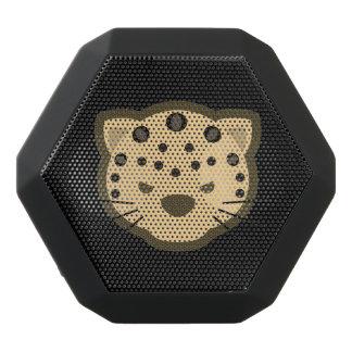Leopard-Gesicht Schwarze Bluetooth Lautsprecher