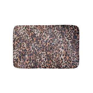 Leopard-Haut-Druck Badematten