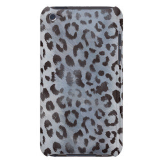 Leopard-Haut im blauen Schiefer iPod Touch Cover