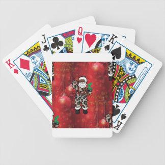 Leopard-Klaus-Rot Sankt afrikanisches Bicycle Spielkarten