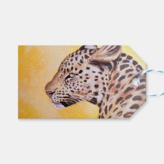 Leopard-Kunst Geschenkanhänger