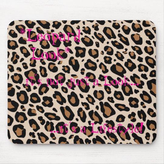 *Leopard Look* Mousepads