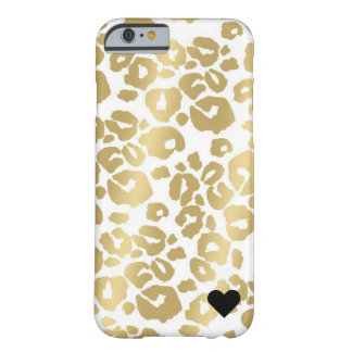 Leopard metallischer IPhone 6/6s Fall Barely There iPhone 6 Hülle