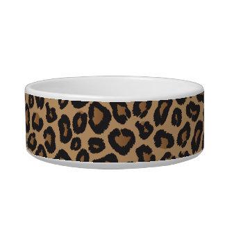Leopard-Monogramm Wassernapf Für Katzen