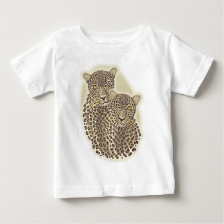Leopard-Paare Baby T-shirt