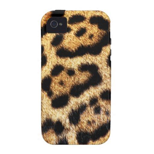 Leopard-Pelz-Blick Vibe iPhone 4 Cover