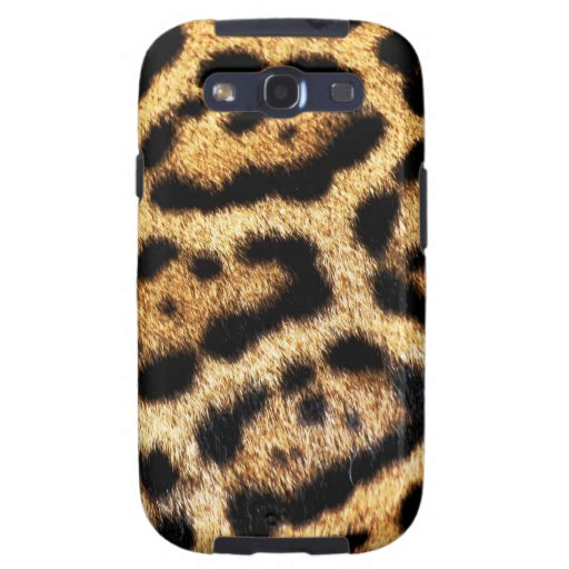 Leopard-Pelz-Blick Galaxy S3 Schutzhülle