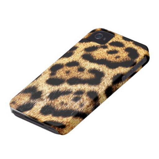 Leopard-Pelz-Blick Case-Mate iPhone 4 Hüllen
