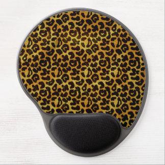 Leopard-Pelz-Druck-Tier-Muster Gel Mousepad