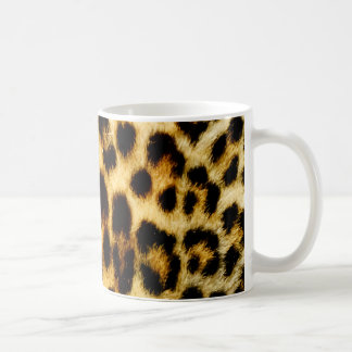 Leopard-Pelz Kaffeetasse
