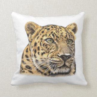 Leopard Portrait Kissen