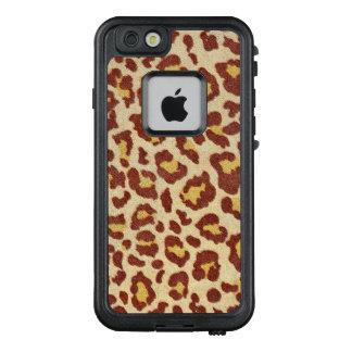 Leopard-Stellen Ultrasuede Blick LifeProof FRÄ' iPhone 6/6s Hülle