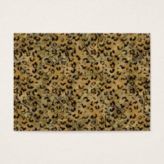 Leopard-Stellen Visitenkarte