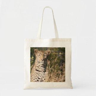 Leopard-Taschen-Tasche--Geborenes freies Budget Stoffbeutel