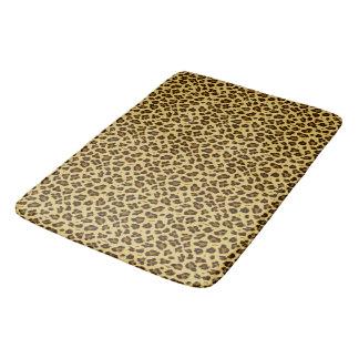 Leopard-Tierdruck-Muster-Bad-Matte Badematte