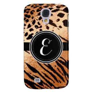 Leopard-Tierdruck-personalisierter Kasten Galaxy S4 Hülle