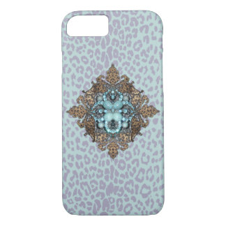 Leopard und Bling iPhone Fall iPhone 8/7 Hülle