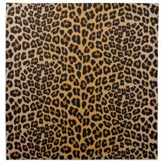 Leoparddruck Stoffserviette