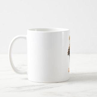Leoparden springen - ein Stückchen eines Tieres Kaffeetasse