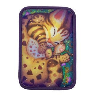 Leopardkatze iPad Hülsen (Nacht) Sleeve Für iPad Mini