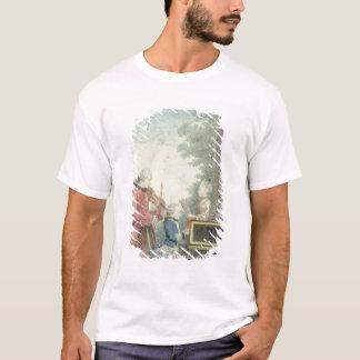 Leopold Mozart und seine Kinder Wolfgang T-Shirt