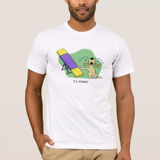 Lernen des Schaukel-Agility-T-Shirts T-Shirt