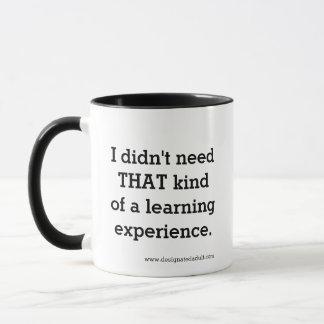 Lernen-Erfahrung - Tasse