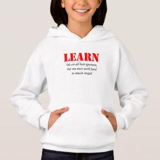 Lernen Sie Hoodie