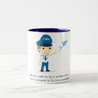 Lernen, - Tasse zu fliegen