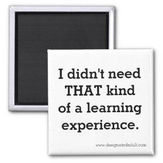 Lernerfahrung - Magnet