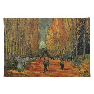 Les Alyscamps durch Vincent van Gogh. Fall, Herbst Tisch Set