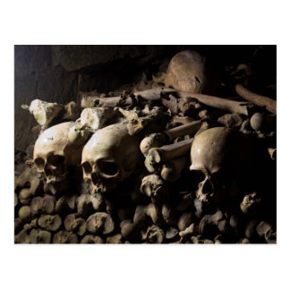 Les Catacombes Postkarte
