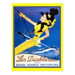 Les Diablerets, die Schweiz Postkarten