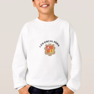 Les Escalades, Andorra Sweatshirt