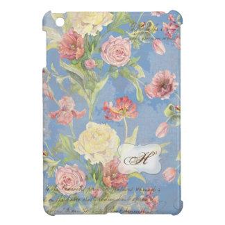 Les Fleurs Pfingstrosen-Rosen-Tulpe-BlumenBlumen-M Etui Fürs iPad Mini