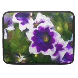 les fleurs sleeve für MacBook pro