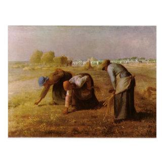 Les Glaneuses 1857 durch Jean-Francois-Hirse Postkarte