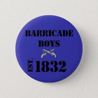 Les Misérables Liebe: Barrikaden-Jungen-Knopf Runder Button 5,1 Cm