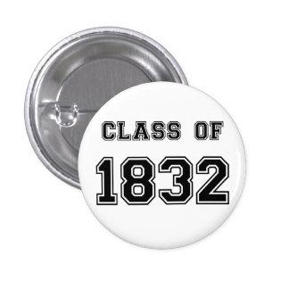 Les Misérables Liebe: Klasse von Knopf 1832 Anstecknadelbuttons