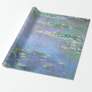 Les Nympheas Wasser-Lilien-Claude Monet-schöne Geschenkpapier
