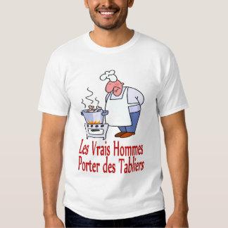 Les vrais hommes Träger-DEStabliers Shirt