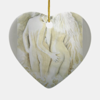 Lesben Keramik Ornament